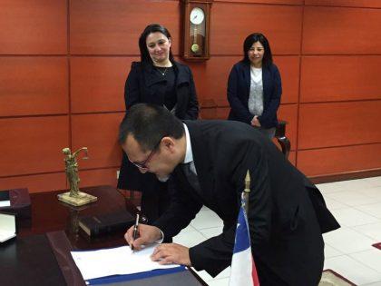 Mario Varas jura como abogado integrante en la Iltma. Corte de Apelaciones de Antofagasta
